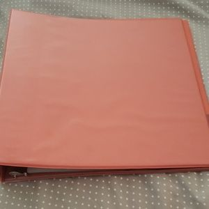 Other - Binder with pocket and dividers.